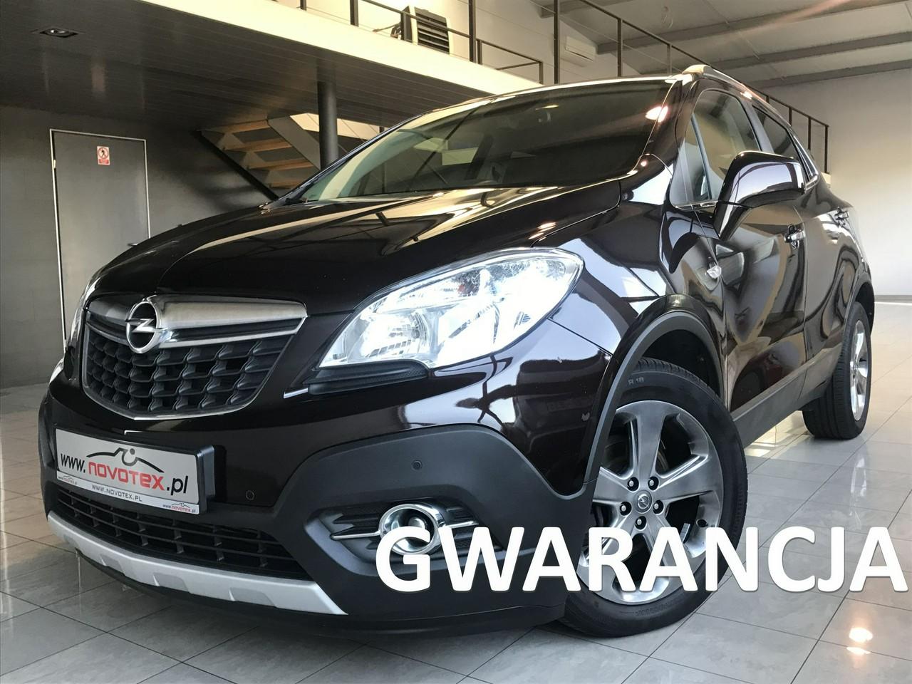 Opel Mokka 1.7CDTI*Cosmo*4x4*skóra*navi*alu 17*serwis w ASO*Gwarancja VIP Service