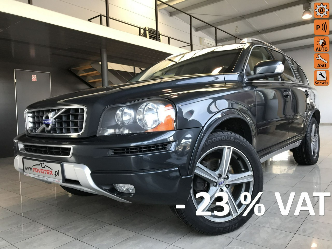 Volvo XC 90 D4*Momentum*mod 2014*automat*7-os*200KM*ALU19*serwis ASO*gwarancja VIP