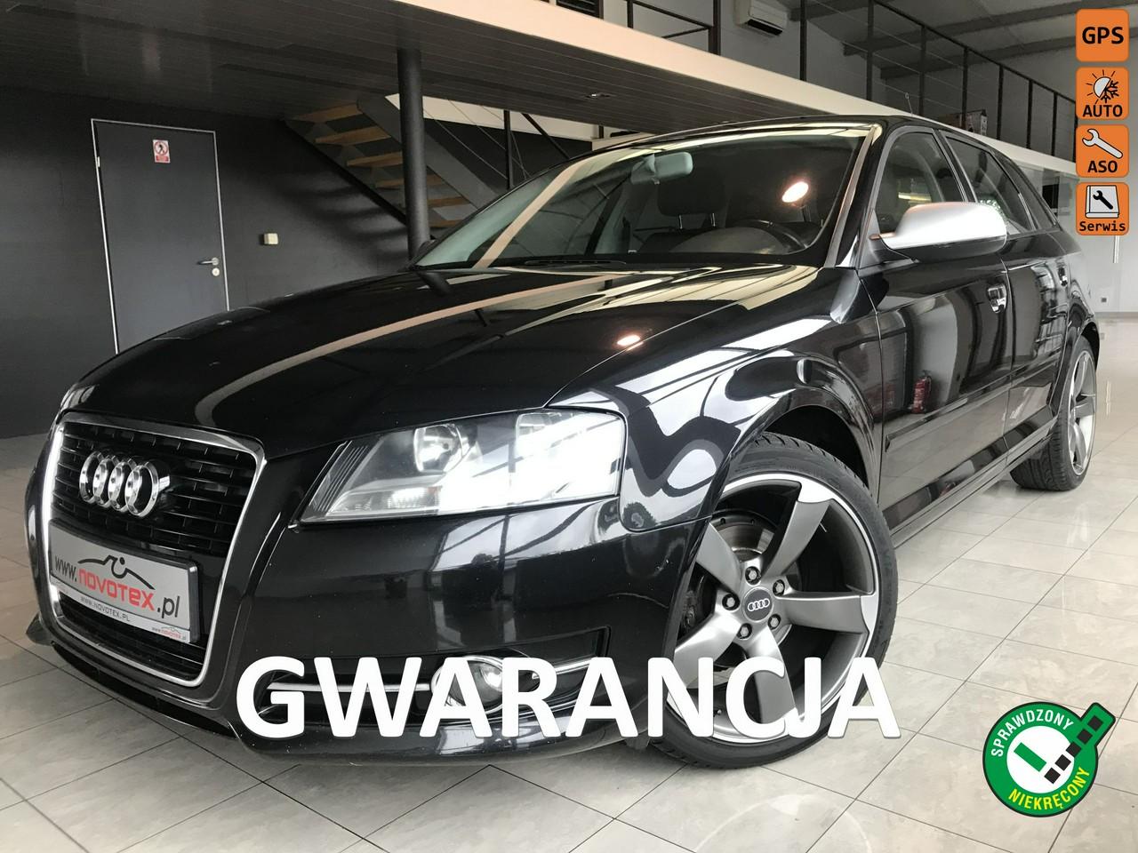 Audi A3 1.6TDI*Ambition*tylko 156Tkm*ALU 18*serwis w ASO*Gwarancja VIP