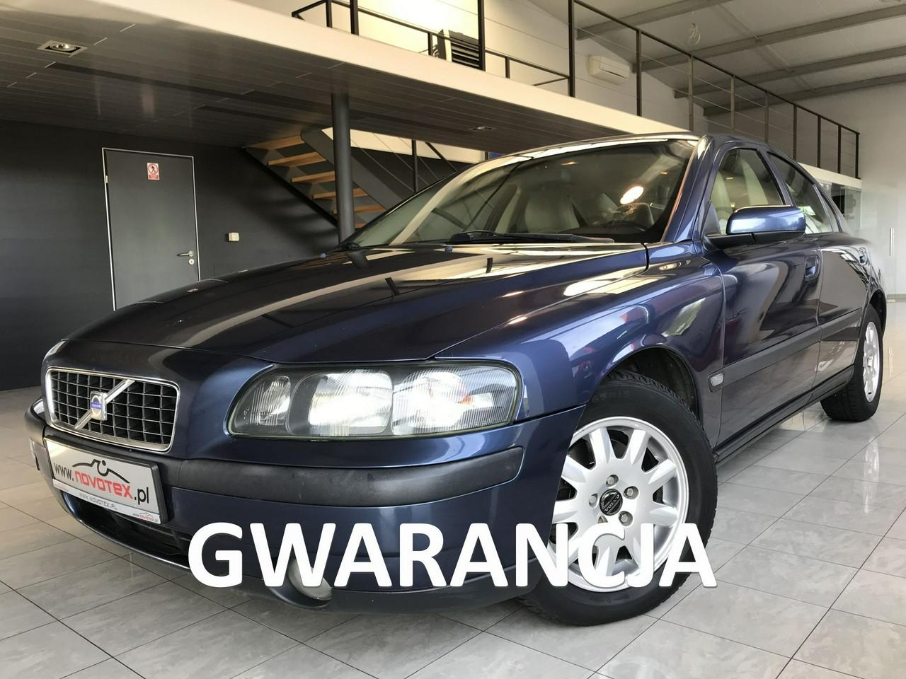 Volvo S60 2.4D*klimatronik*ALU 16*serwis w ASO*Gwarancja VIP Service