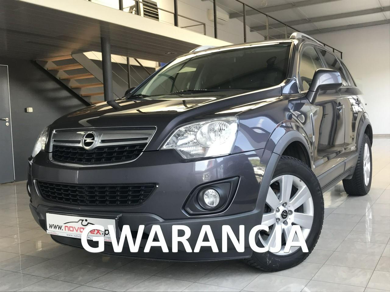 Opel Antara 2.2CDTI*Enjoy Plus*navi*skóra*ALU*bezwypadek*serwis ASO Opel*gwarancja