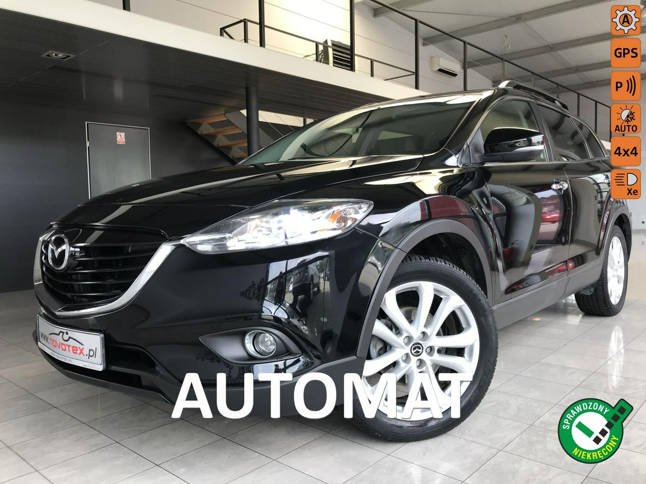 Mazda CX-9 3.7 V6*AWD*automat*7-os*DVD*tylko 142Tkm*gwarancja VIP