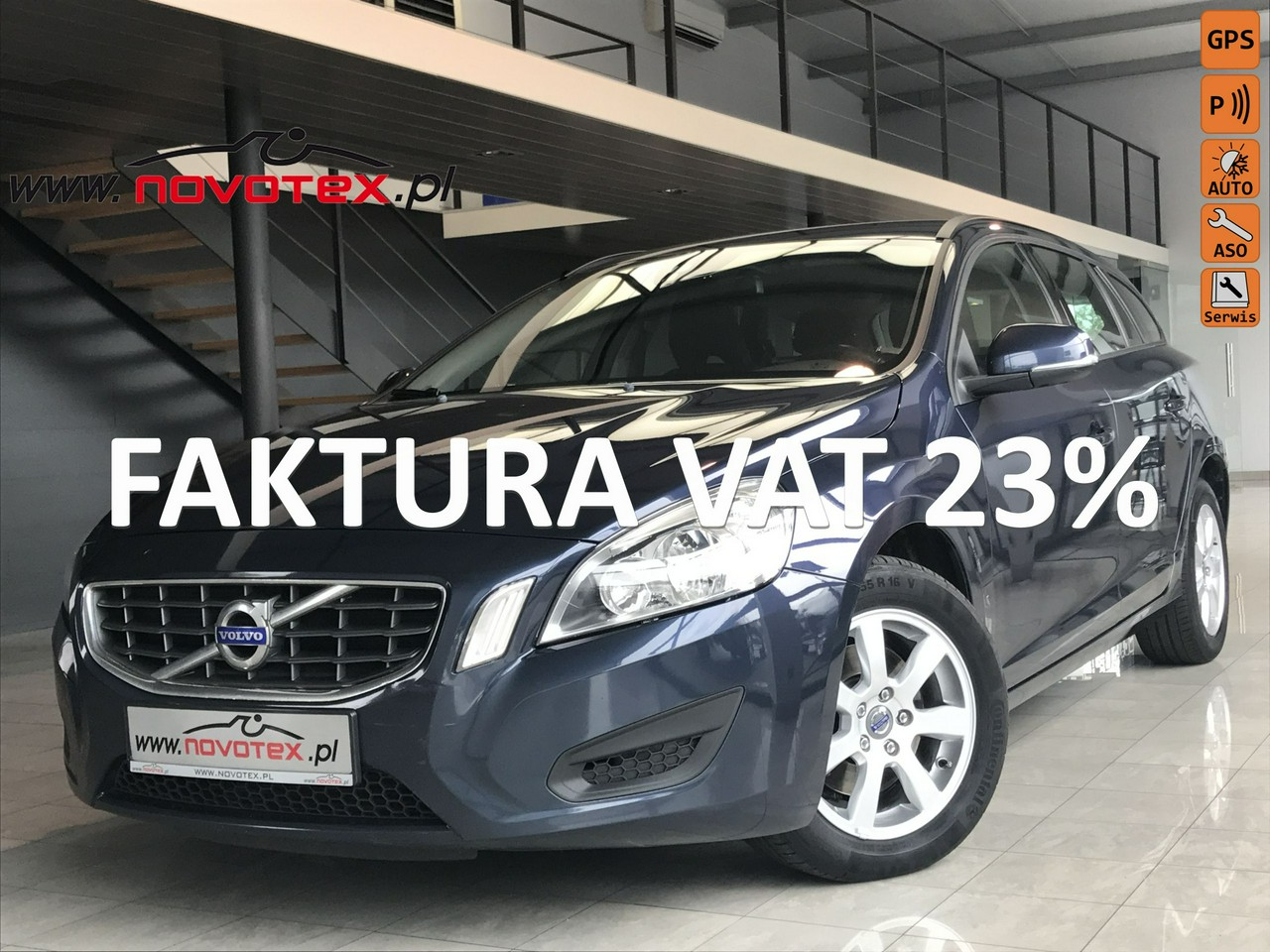 Volvo V60 2.0D*Momentum*navi*177Tkm*serwis w ASO*Gwarancja VIP Service