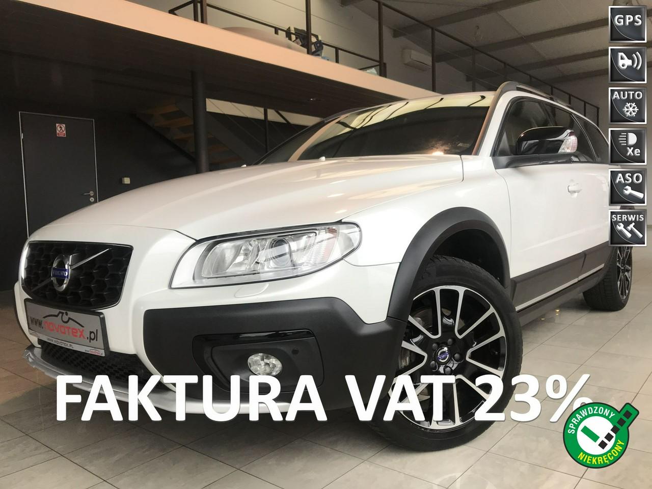 Volvo XC 70 D4*Summum*xenon*skóra*alu18*tylko 105Tkm*bezwypadek*serwis w ASO Volvo