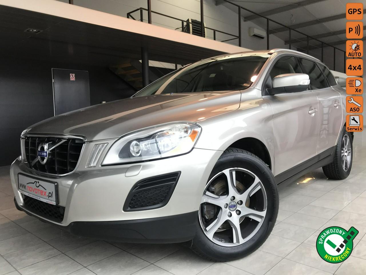 Volvo XC 60 D5 AWD*Summum*xenon*ALU18*nowe opony*serwis w ASO Volvo*gwarancja