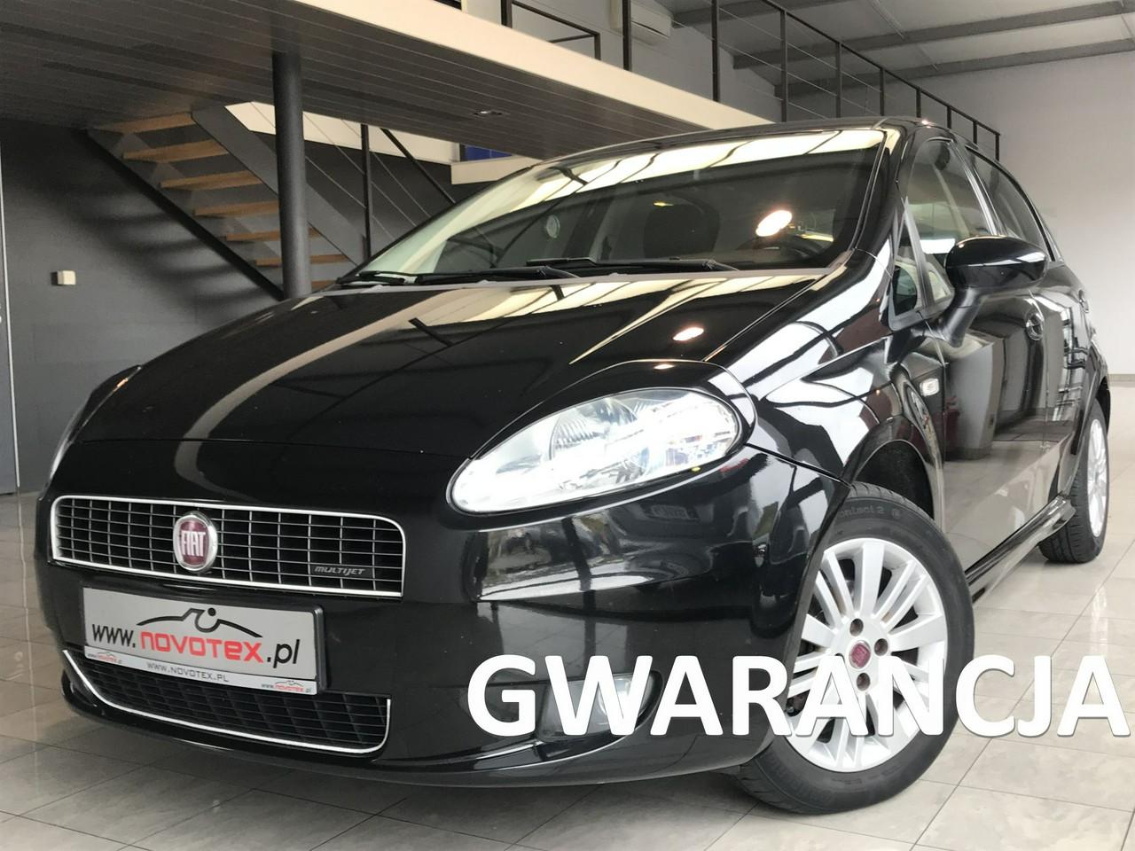 Fiat Grande Punto 1.3MJet*Dynamic*klima*alu*126Tkm*serwis w ASO*Gwarancja VIP Service