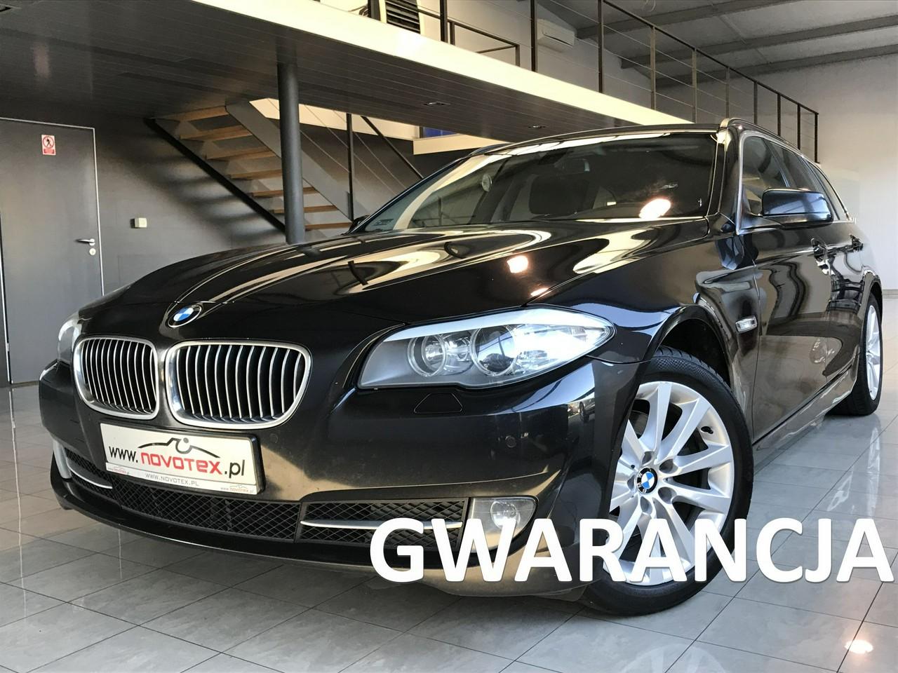 BMW 520 2.0D*navi*alu 18*bezwypadek*serwis w ASO*gwarancja VIP Service