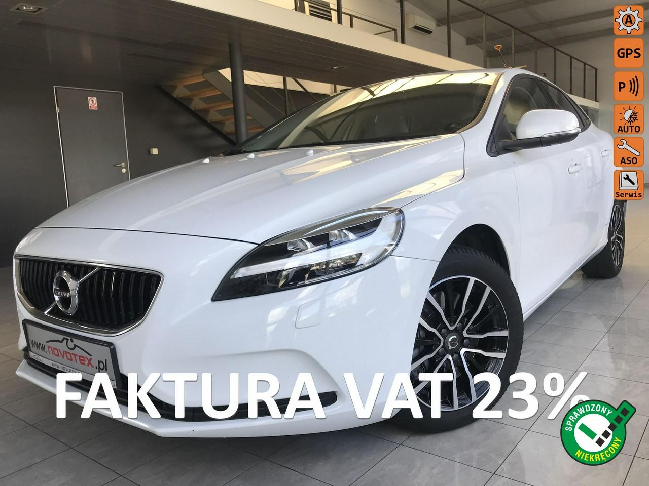 Volvo V40 D2*Kinetic*klimatronik*ALU*navi*Car-Pass*tylko 90Tkm*serwis ASO Volvo