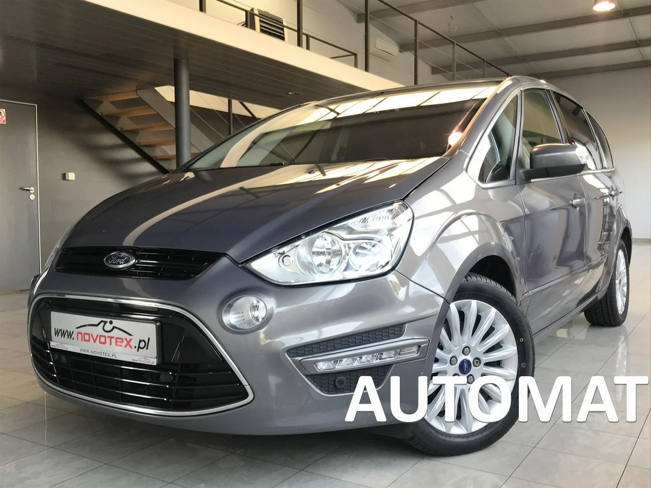 Ford S-Max 2.0TDCi*Titanium*automat*ALU*skóra*Convers+*navi*serwis ASO*Gwarancja