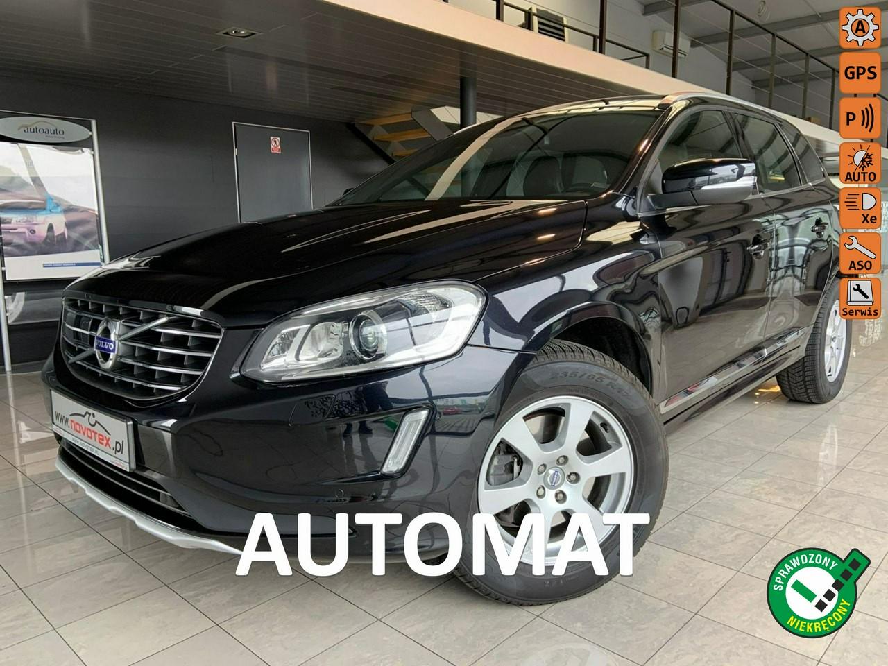 Volvo XC 60 D4*Summum*automat*panorama*xenon*TFT*ACC*tylko 143Tkm*serwis ASO Volvo