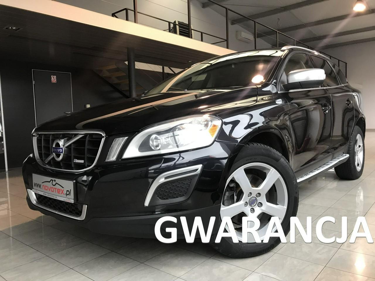 Volvo XC 60 D3*R-Design*xenon*skóra*alu 18*serwis w ASO*gwarancja VIP Service