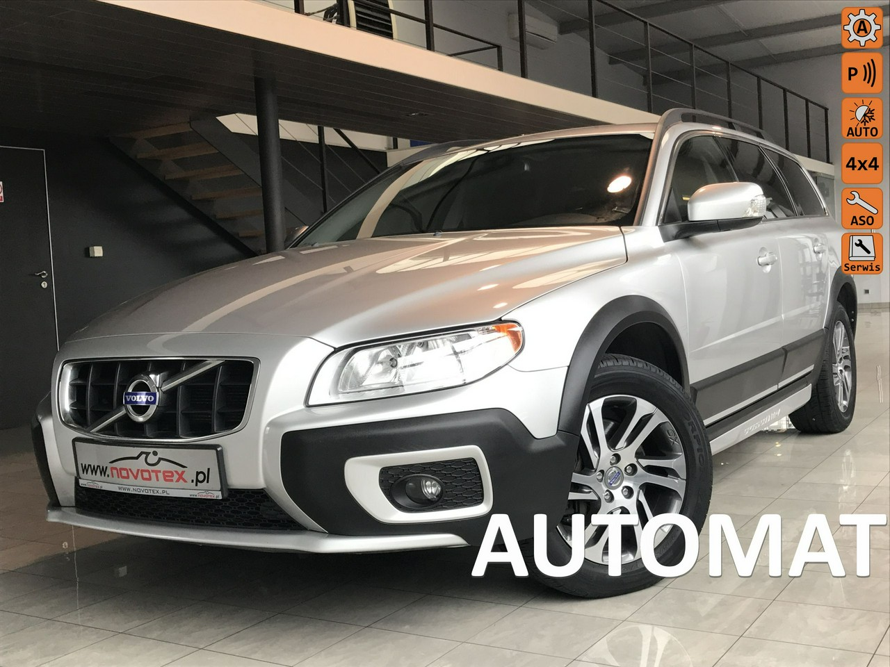 Volvo XC 70 D5*AWD*automat*187Tkm*lift 2011*serwis w ASO*Gwarancja VIP Gwarant