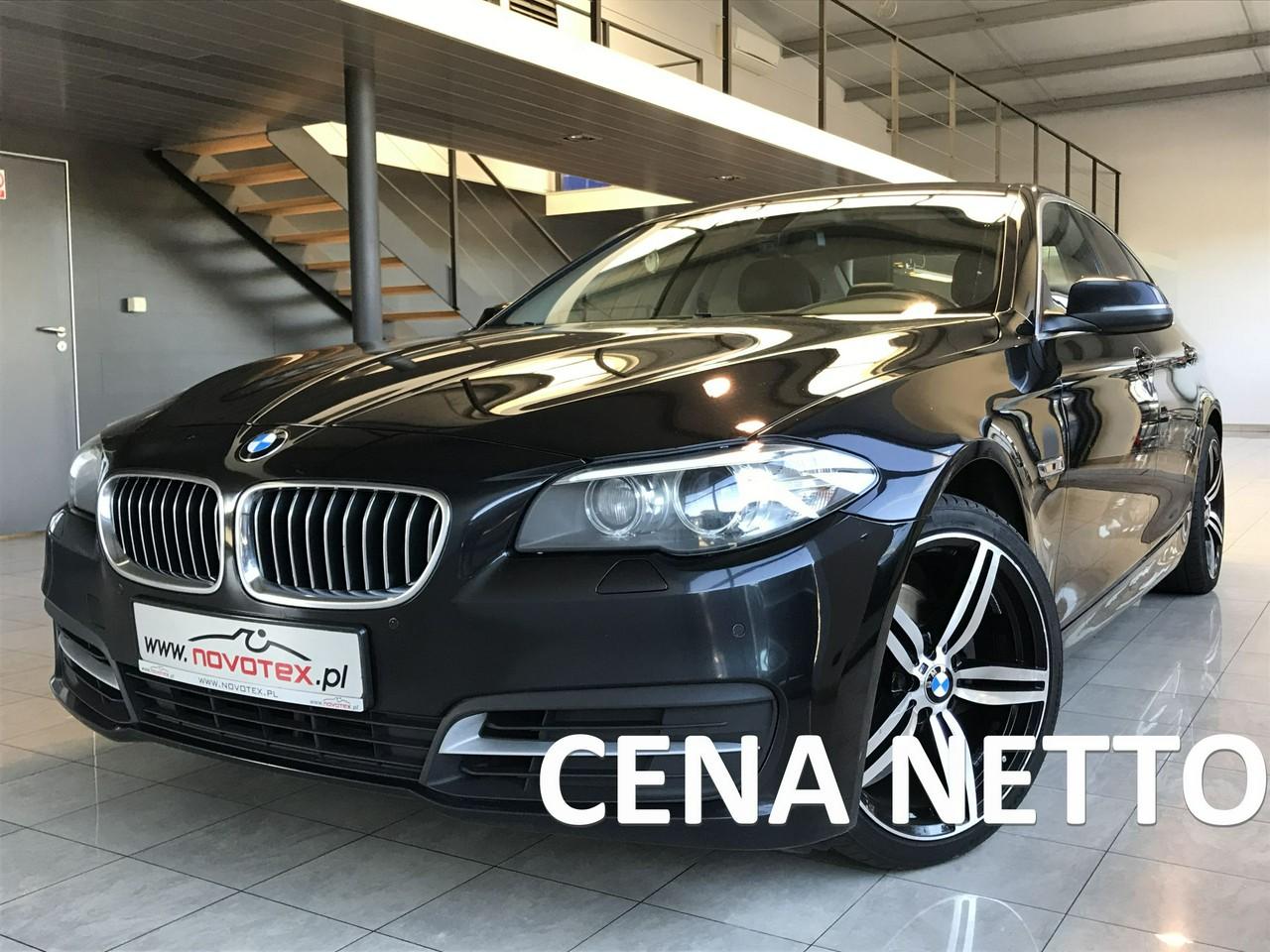 BMW 520 2.0D*xenon*skóra*ALU 19*bezwypadek*serwis w ASO*gwarancja VIP Service