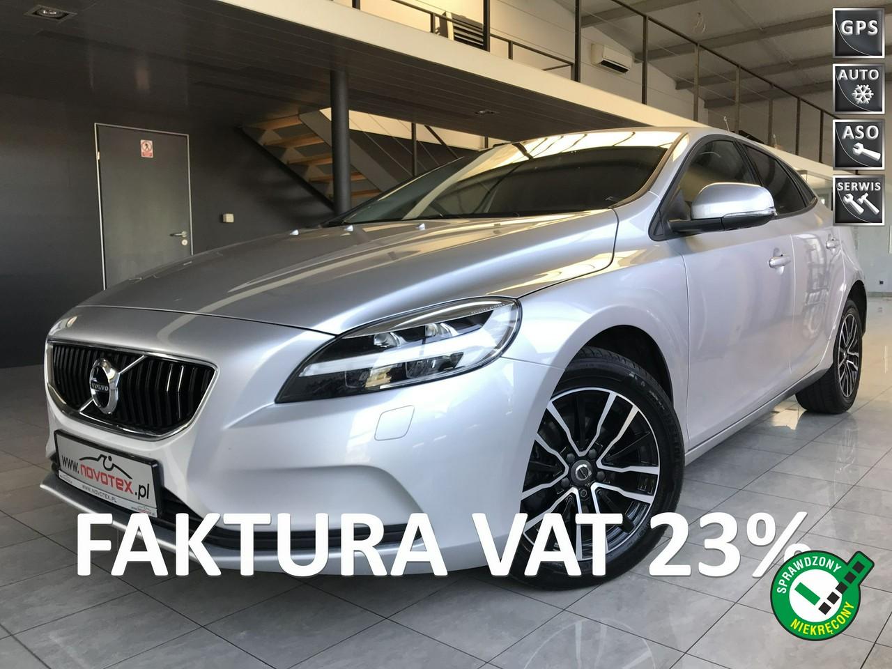 Volvo V40 D2*Momentum*LED*serwisowany w ASO*Gwarancja