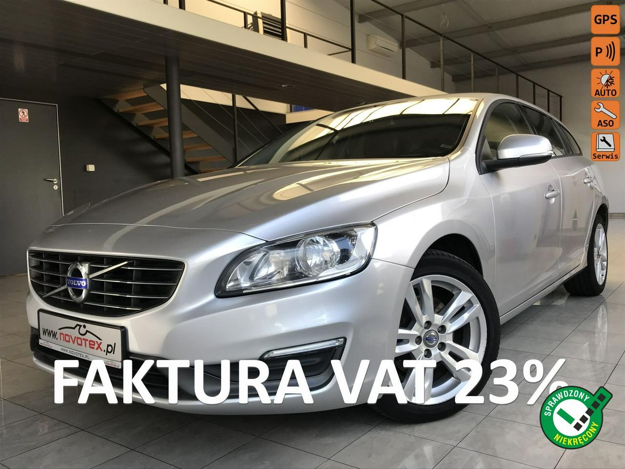 Volvo V60 D2*Momentum*navi*ALU17*serwis w ASO Volvo*Gwarancja VIP Service