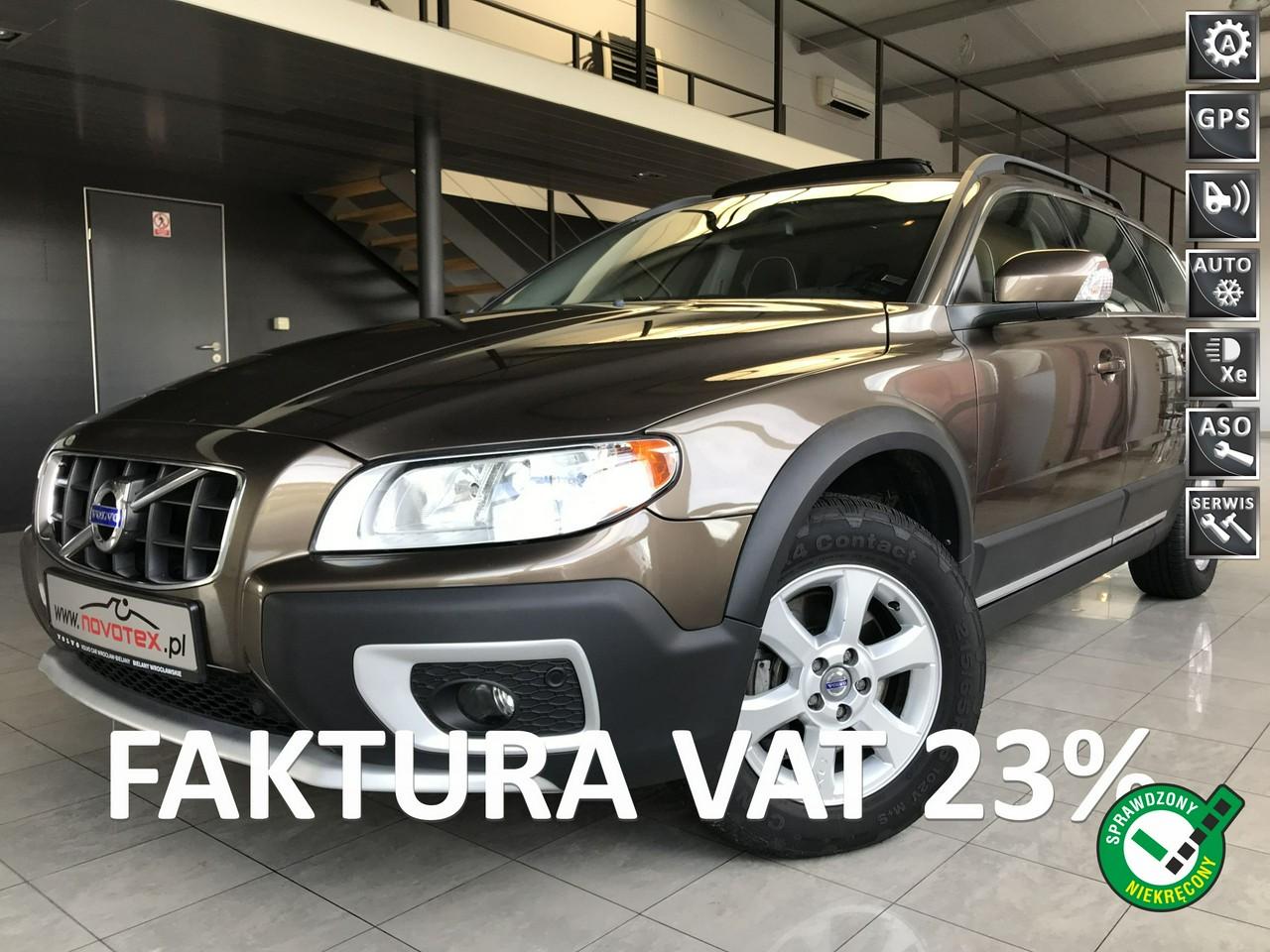 Volvo XC 70 D4*automat*xenon*skóra*DVD*bezwypadek*serwis w ASO