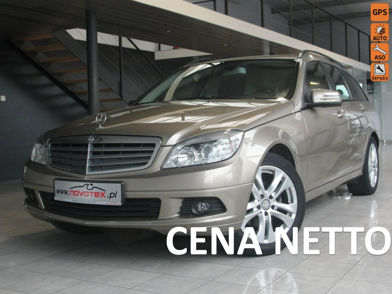 Mercedes C 200 2.2CDI*Classic*serwis w ASO*gwarancja VIP Service