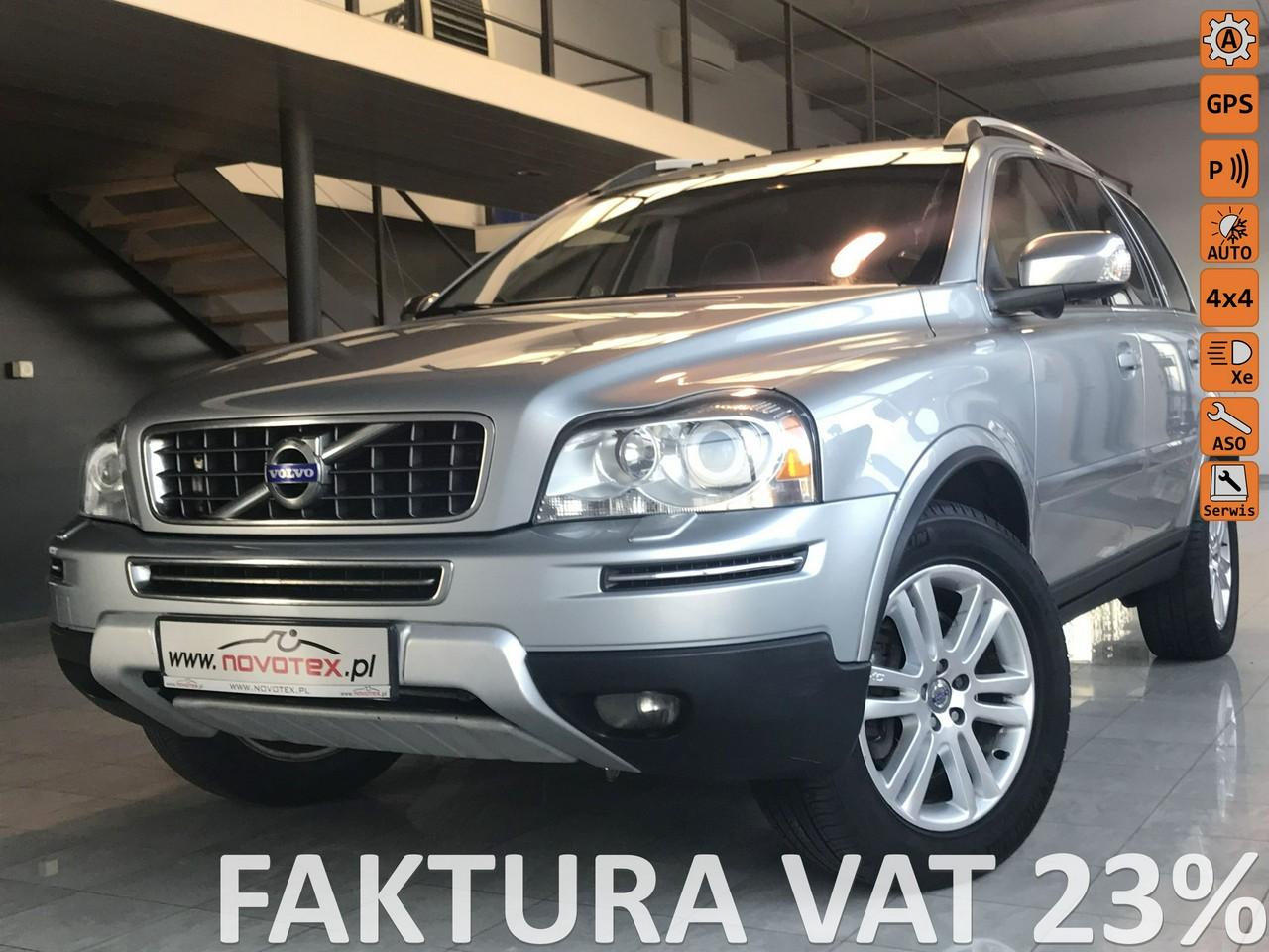 Volvo XC 90 D5*AWD*Executive*automat*xenon*7-os.*serwis ASO*gwarancja VIP Service