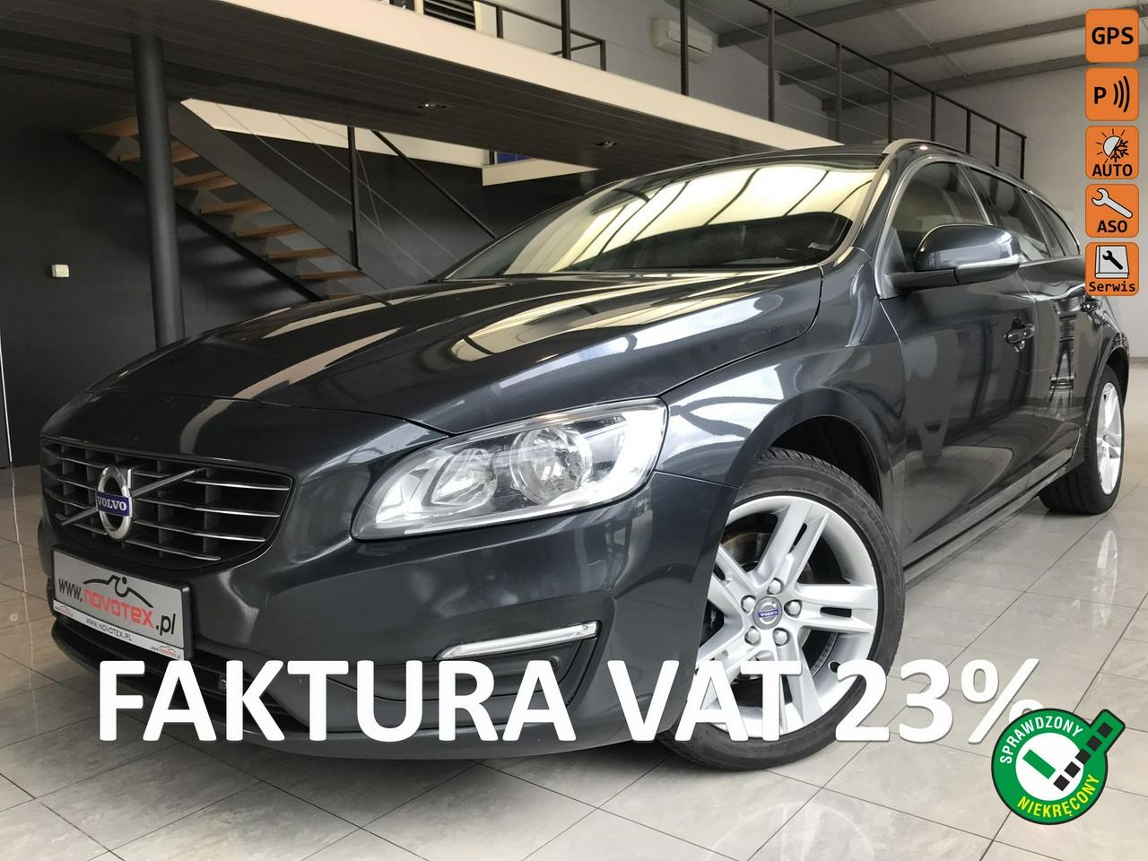 Volvo V60 D4*Momenum*190KM*ALU17*nowa dwumasa+sprzęgło*serwis ASO*Gwarancja