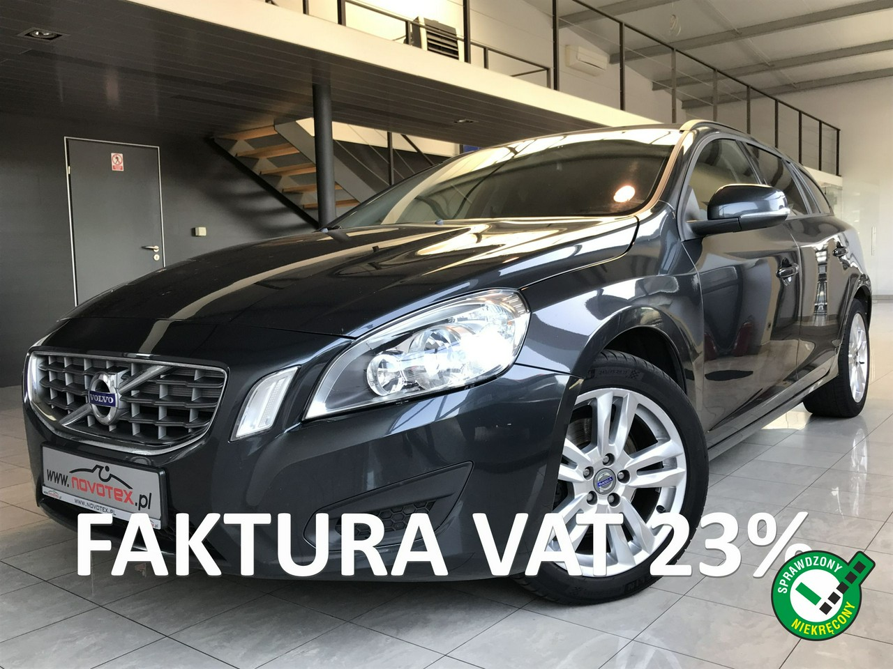 Volvo V60 D2*Momentum*navi*ALU 17*nowe opony*serwis w ASO Volvo*Gwarancja VIP