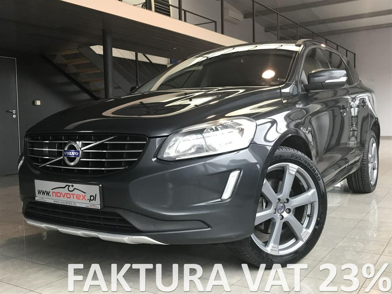 Volvo XC 60 D4*AWD*automat*ACC*BLIS*ALU 20 cali*serwis w ASO*gwarancja VIP Service