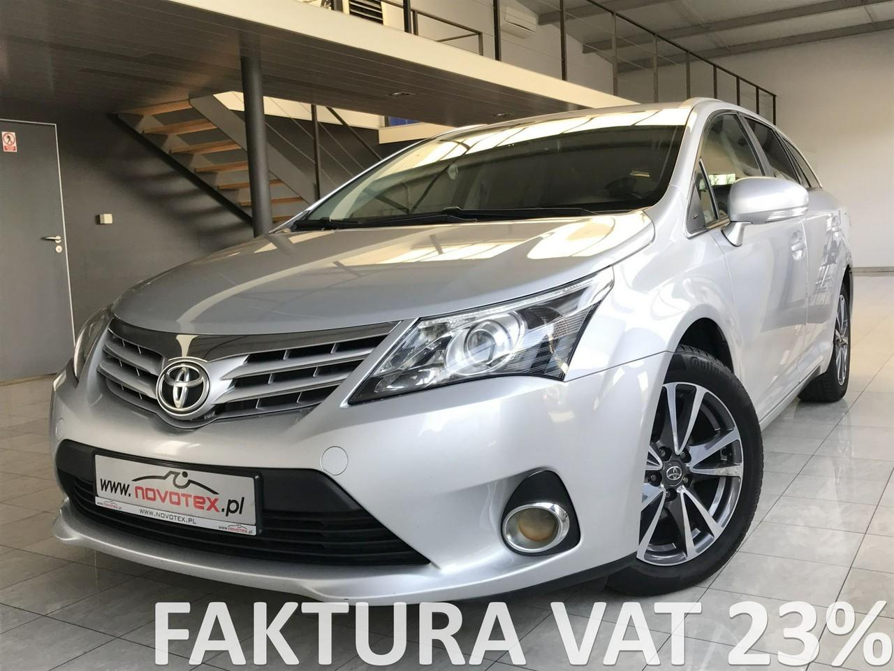 Toyota Avensis 2.0D-4D*Sol*navi*alu 17 cali*bezwypadek*serwis w ASO*Gwarancja VIP