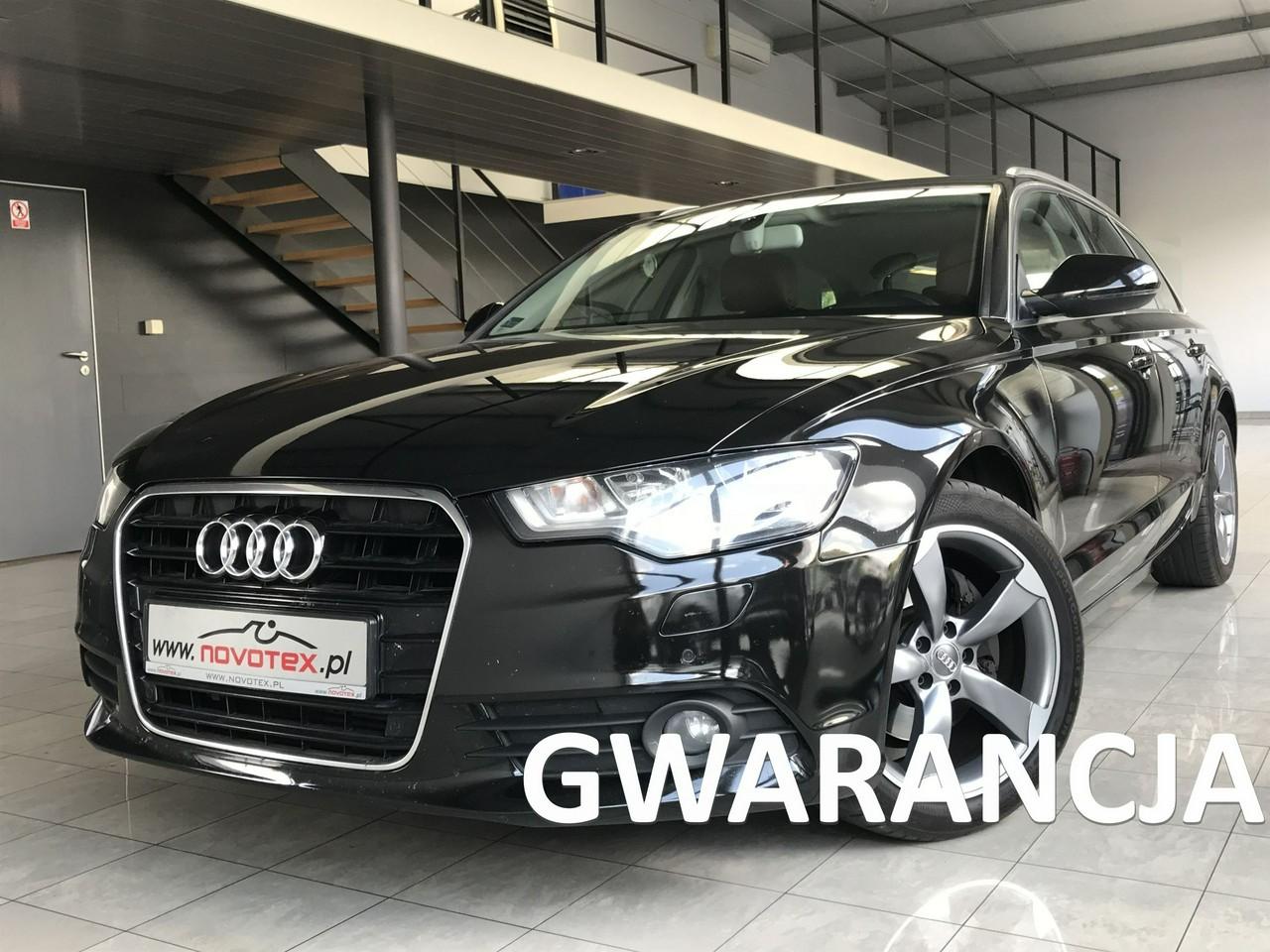 Audi A6 2.0TDI*Avant*skóra*navi*ALU18*serwis w ASO*gwarancja VIP Service