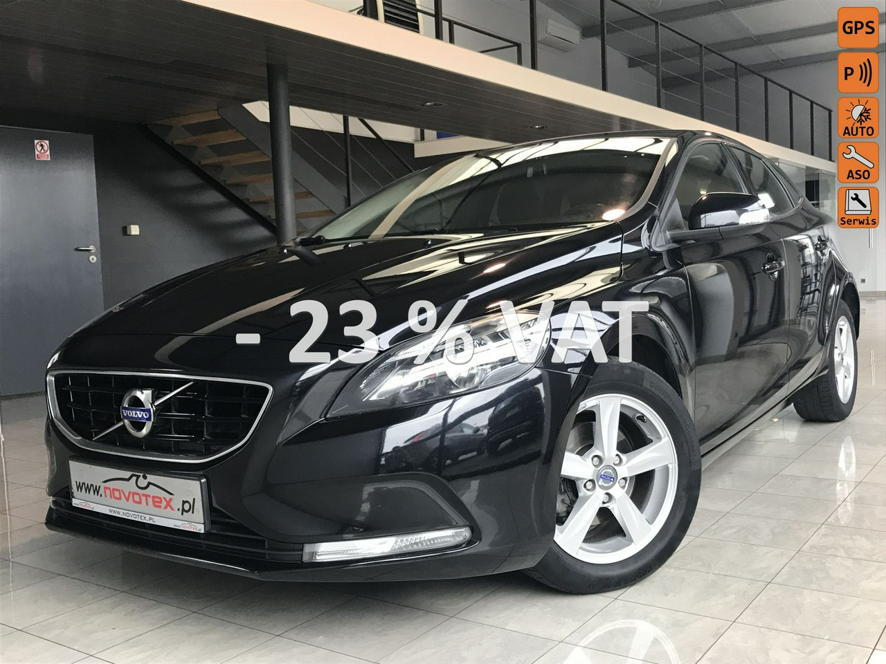 Volvo V40 D2*Momentum*navi*serwis w ASO*Gwarancja VIP Service