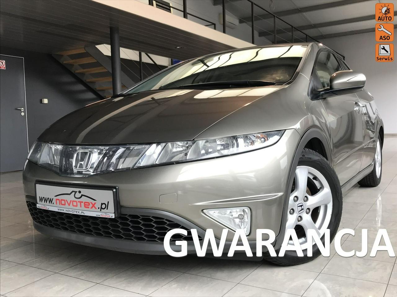 Honda Civic 1.8VVTI*Comfort*klimatronik*ALU 16*bezwypadek*serwis ASO*Gwarancja VIP