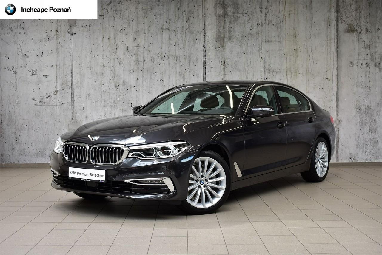 BMW  520d xDrive  Luxury Line Szary Sophisto Salon BMW Inchcape Poznań_0