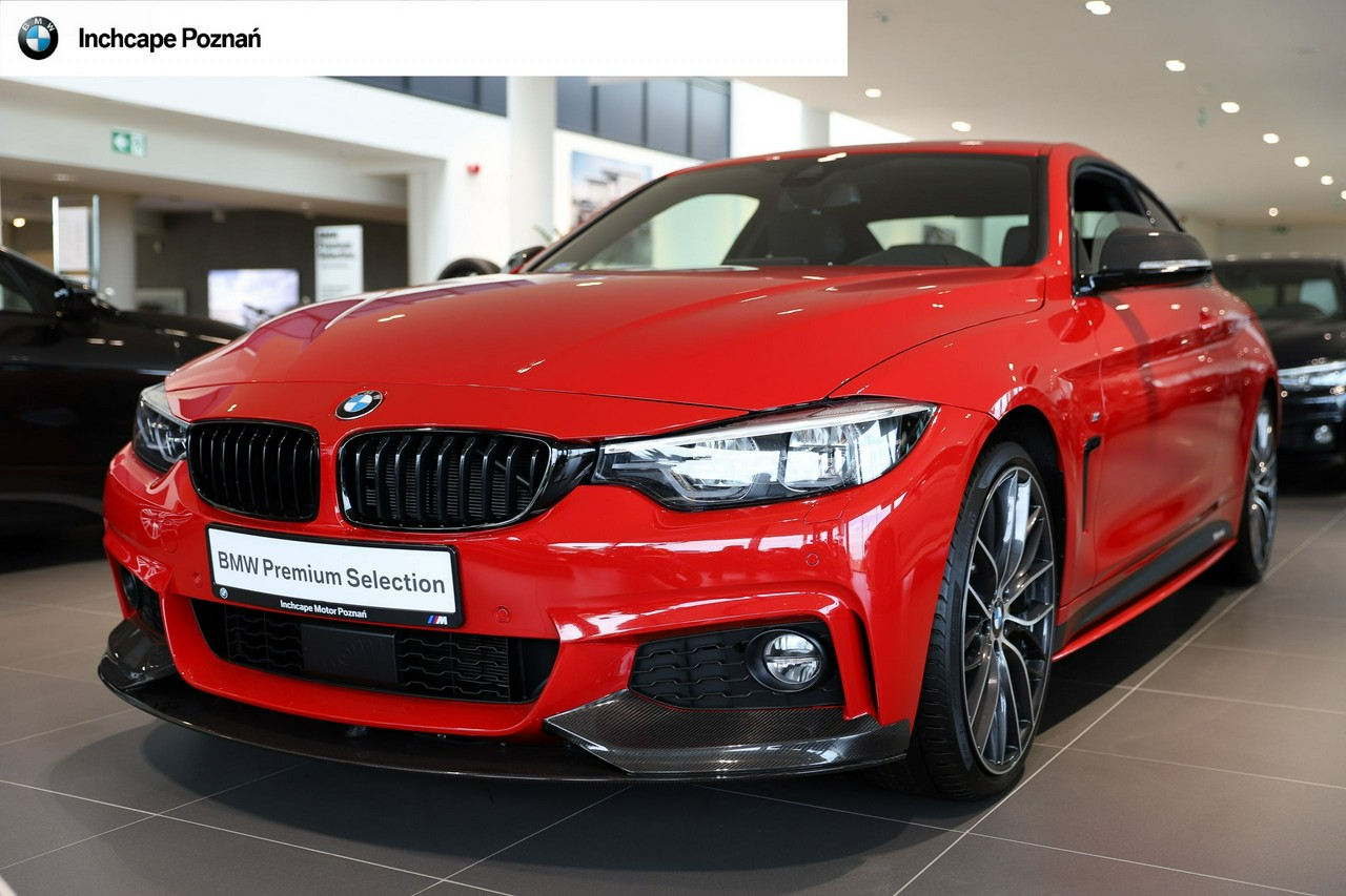 BMW 440i xDrive Coupé|Power Kit|Ferrari Red |Salon BMW Inchcape Poznań_0