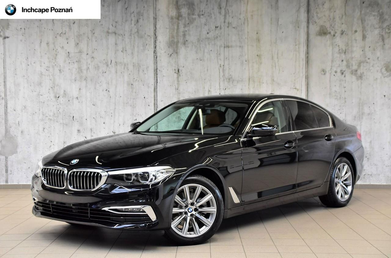 BMW 520d xDrive|Luxury Line|Komfortowe fotele|Asystent parkowania_0