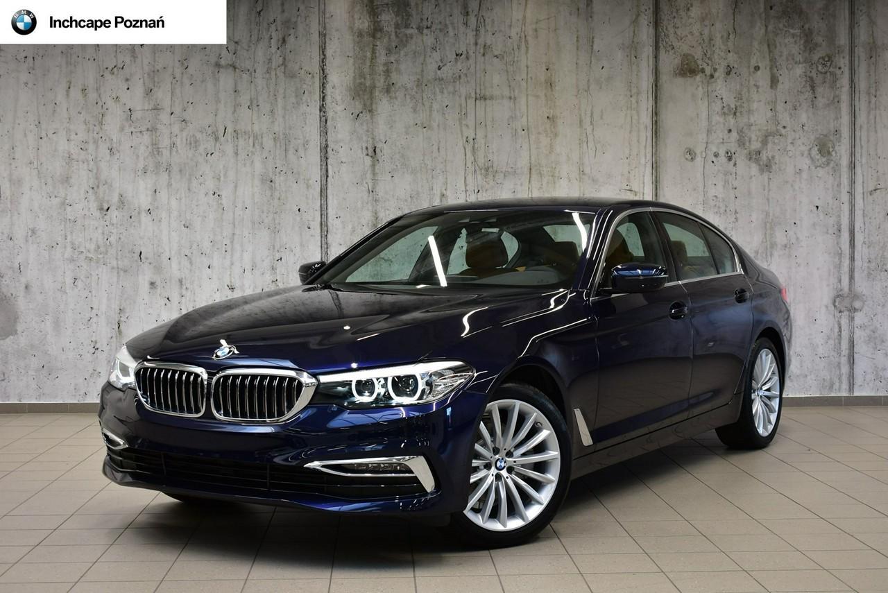 WYPRZEDAŻ|BMW 518d|Luxury Line|BMW Inchcape Poznań_0